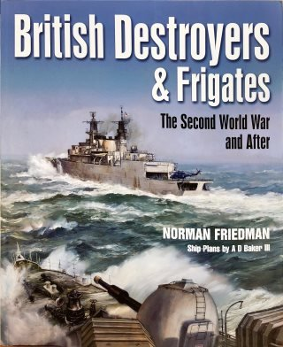 Portada British Destroyers & Frigates The Second World War and After