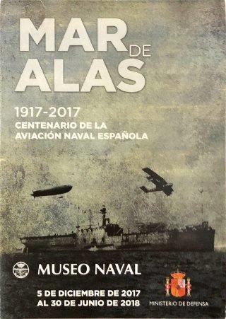 Museo Naval Cartel de la Exposición Mar de Alas