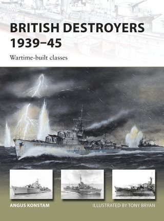 british destroyers 1939-1945 wartime-built classes portada