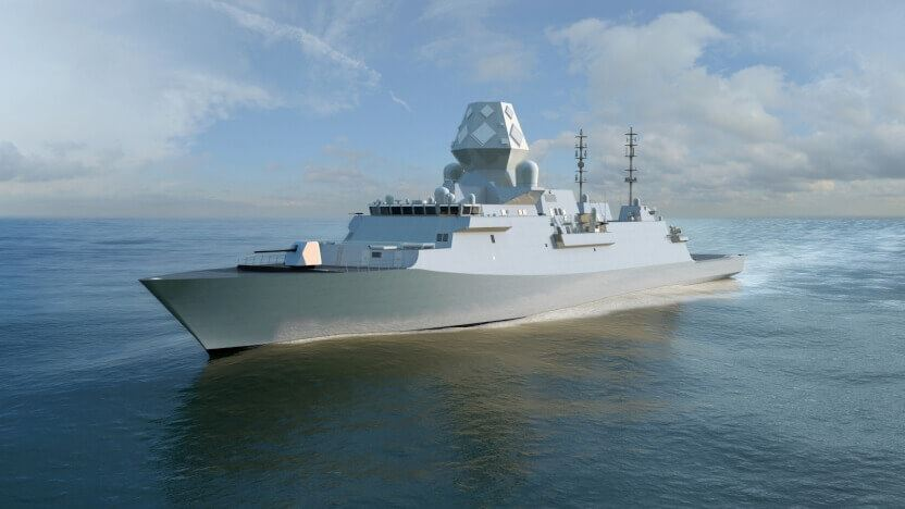 Fragata Type-26 ganadora del concurso SEA-5000